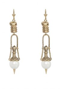 SAHARA EARRING GOLD BY KITTE