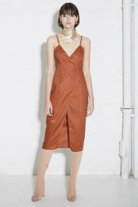 Hold Tight Wrap Dress by Third Form