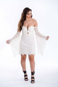 Love Lost Dress in Ivory by Thurley