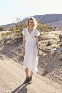 She Might Be Sweet Wrap Maxi Dress by Auguste the Label