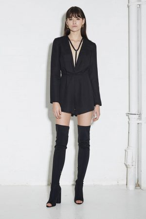 Hold Tight Playsuit by Third Form