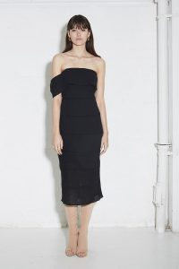 Artilio Dress in Black by Third Form