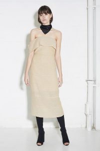 Artilio Dress in Sand by Third Form