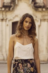 Embroidered Cami by Auguste the Label