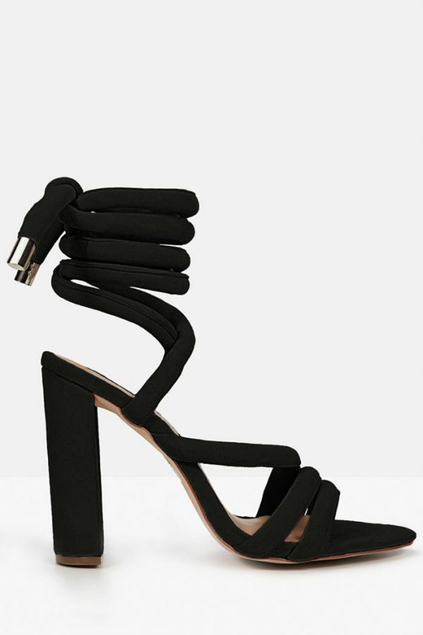 The Harper in Black Suede by Mode Collective