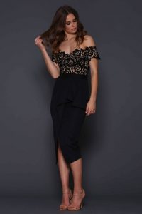Tango Dress in Black by Elle Zeitoune