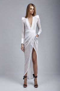 Main Event Gown in White by Zhivago