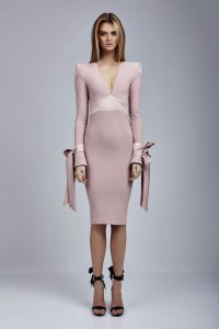 Fame Dress in Blush by Zhivago