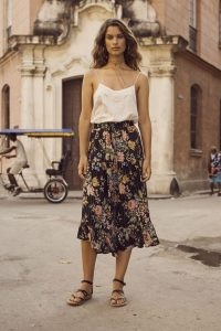 Delilah Frilled Maxi Skirt by Auguste the Label