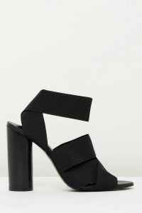 The Carmen in Black Elastic by Mode Collective