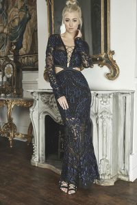 Blue Valentine Gown by Thurley