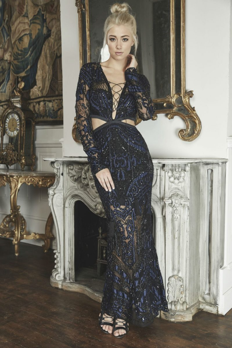 Blue Valentine Gown by THURLEY - State Of Style