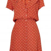 Lilly Day Dress in Rust by Auguste the Label