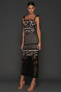 Louise Dress Black by Elle Zeitoune