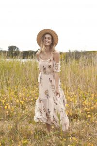 Country Field Maxi Dress by We Are Kindred