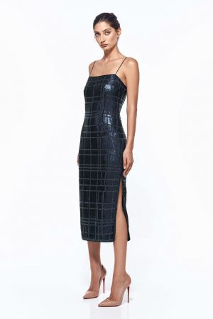 Aurelie Beaded Dress by Misha Collection