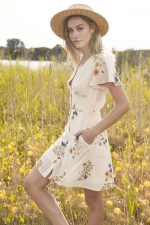 Country Field Mini Dress by We Are Kindred