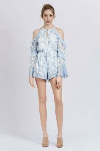 Morning Frost Romper Bluebell by We Are Kindred