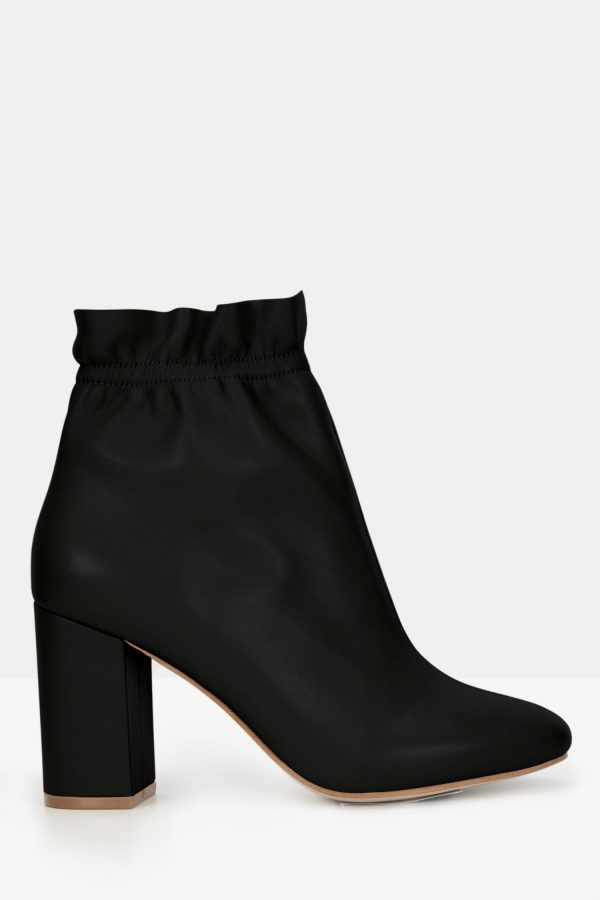 Jira Boot Black Nappa by Mode Collective