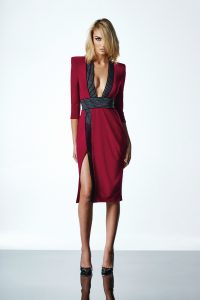 Warsaw Dress in Ruby by Zhivago