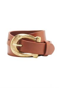 Sophia Belt in Cognac by Sancia