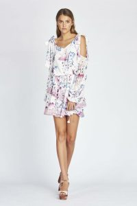 Alessandra Ruffle Mini in Monet Bloom by We Are Kindred