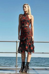 English Rose Midi Dress by Thurley