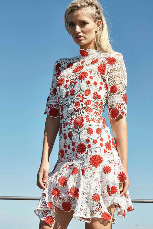 f75dd51a11 English Rose Dress By Thurley State Of Style