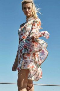 Meadow Print Dress by Thurley