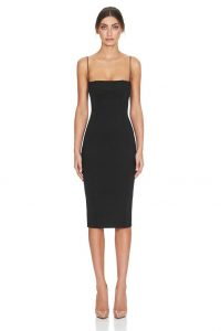 Sophie Dress in Black by Misha Collection