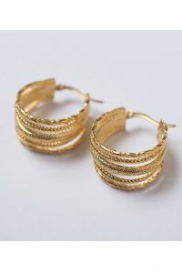 Multi Swing Earrings by Brie Leon