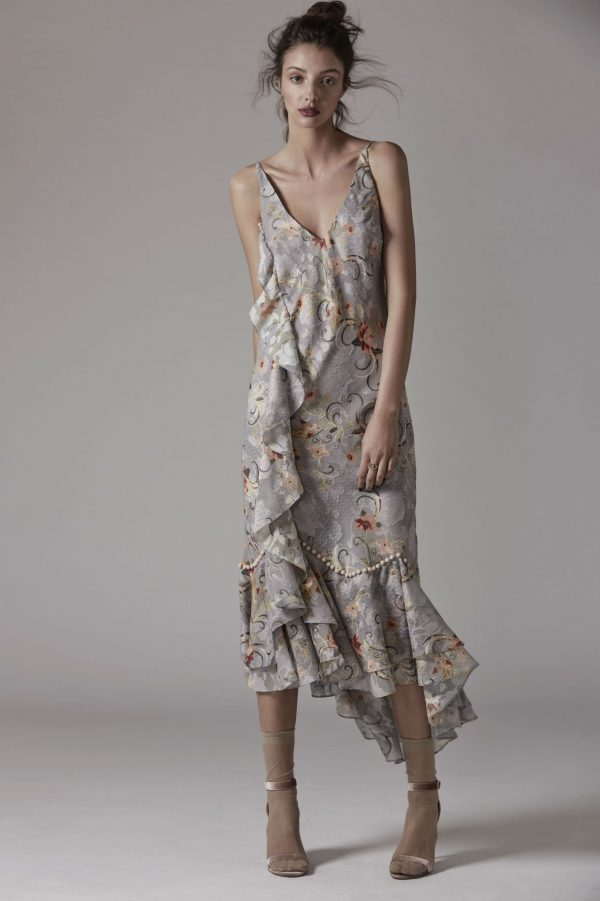 Esme Ruffle Slip Dress by We Are Kindred
