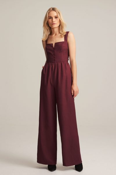 Isobel Corset Jumpsuit by Steele