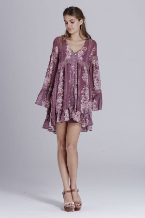 Heidi Oversized Mini Dress by We Are Kindred