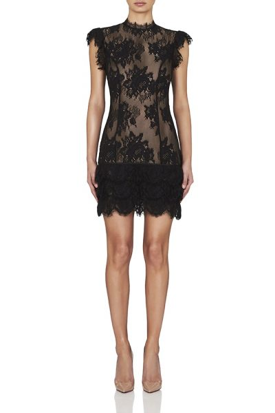 Fiona Mini Lace Dress by Misha Collection