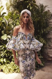 Floral Fiesta Dress by Thurley