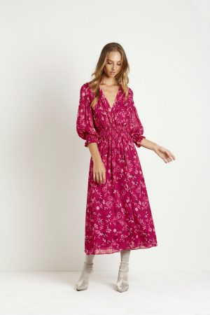Winnie Midi Dress by Steele