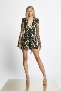 In The Garden Mini Dress by Zhivago