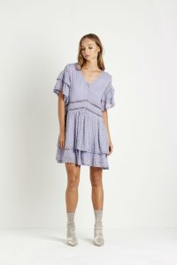 Luella Dress in Powder Blue by Steele