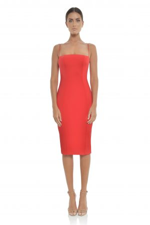 Sophie Dress in Red by Misha Collection