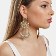 Playa Pariso Earrings in Gold by Kitte