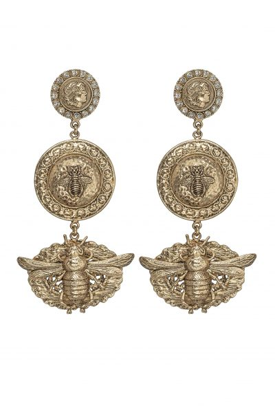 VERONA EARRING IN GOLD BY KITTE