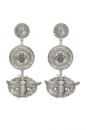 VERONA EARRING IN SILVER BY KITTE