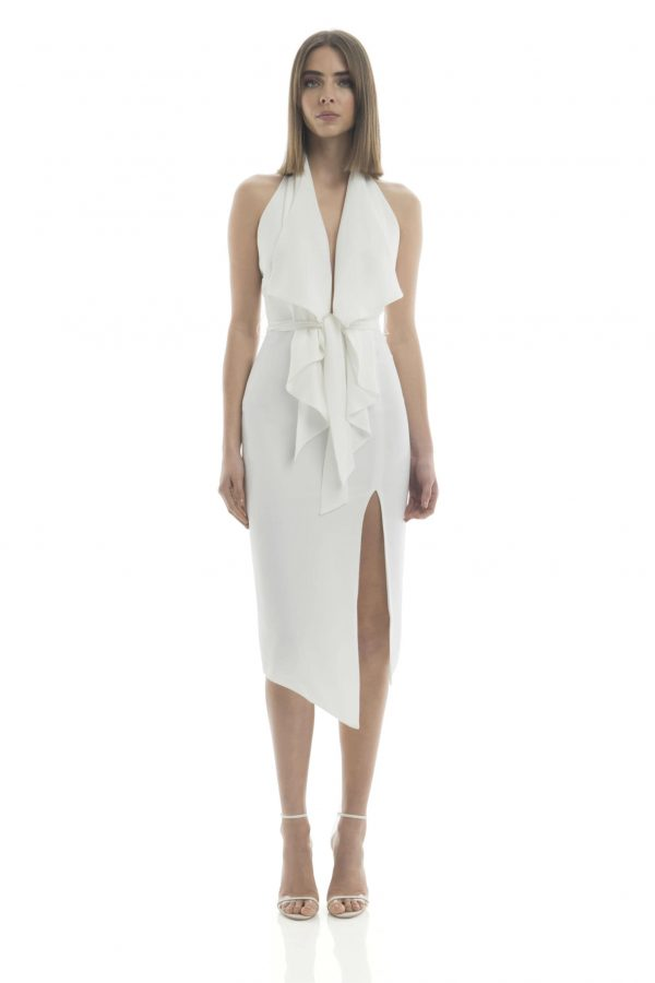 Lorena Dress in Ivory by Misha Collection