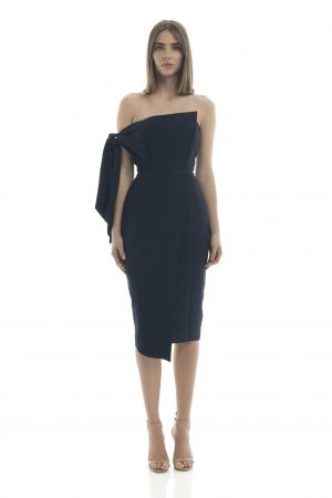 Romi Dress in Navy by Misha Collection