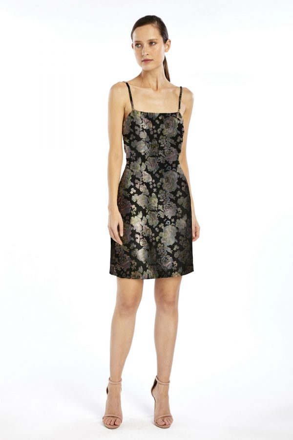 Dixie Mini Dress in Black by We Are Kindred