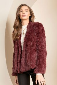 Valencia Fur Jacket by Bubish