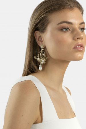Lost Paradise Earring by Kitte