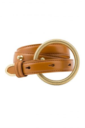 Manou Belt Cognac by Sancia