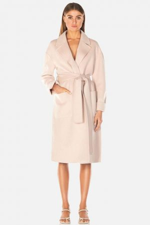 Haillie Wool Coat by Misha Collection